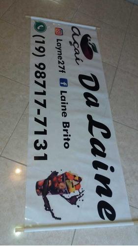 Imagem 1 de 10 de Faixas E Banners Adesivados