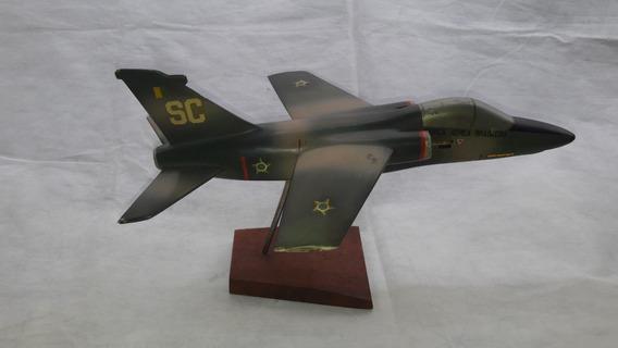 Miniatura Avião A Jato Da Força Aérea Brasileira