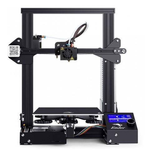 Impressora 3d Creality Ender-3 Bivolt + Nf + 1 Ano Garantia!