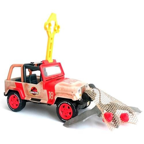 Vehículo Jeep Wrangler Jurassic World Mattel
