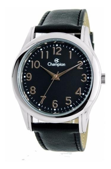 Relógio Couro Champion Masculino Cn20015t