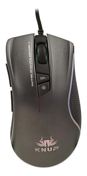 Mouse para jogo Knup Pro KP-X1 Gamer preto