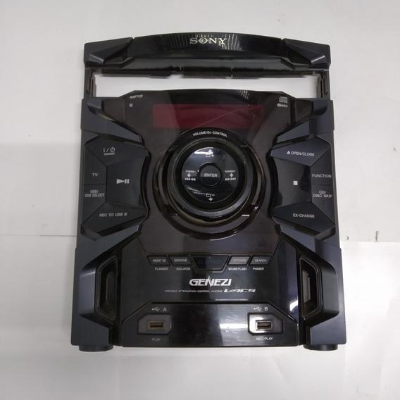 Painel Frontal Som Sony Mhc Ex6 Br Com Placa Usb + Garantia