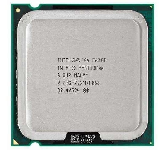 Processador Intel Pentium Core 2 Duo E6300 Socket 775
