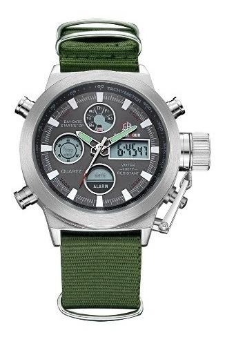Relógio Militar Exercito Air Force Navi Tipo Mergulhador