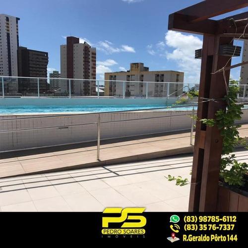 Apartamento Com 3 Dormitórios À Venda, 105 M² Por R$ 700.000 - Tambaú - João Pessoa/pb - Ap1746