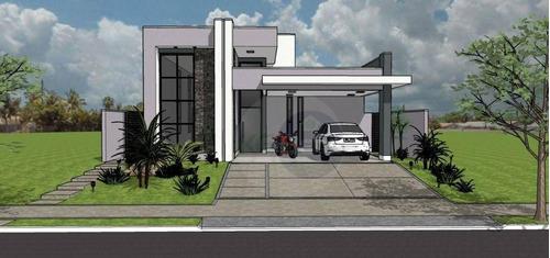 Casa À Venda, 200 M² Por R$ 1.350.000,00 - Condomínio Terras Do Cancioneiro - Paulínia/sp - Ca0589