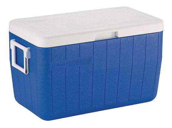 Caixa Térmica Coleman 48qt Azul