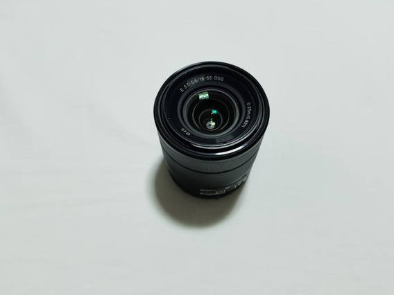 Lentes Sony E-mount Do Kit Da Camera 18-55 E 55-210