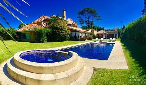 Espectacular Casa En Venta Y Alquiler Beverly Hills - Punta Del Este-ref:305