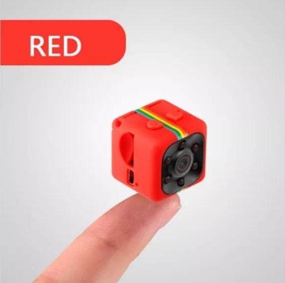 Mini Câmera Espiã Sq11 Hd Visão Noturna