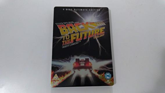 Steelbook Trilogia De Volta Para O Futuro - Dvd Importado
