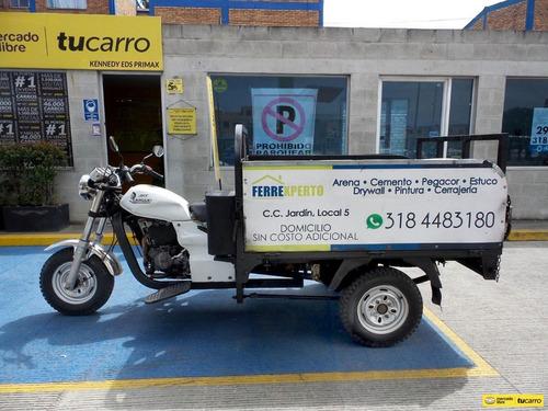 Imagen 1 de 15 de Motocarro Akt 3w 200 Moto Carguero