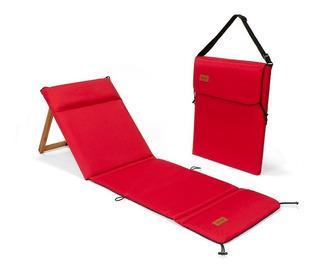 Reposera Portatil Plegable Liviana Camping Playa Chilly Oliv