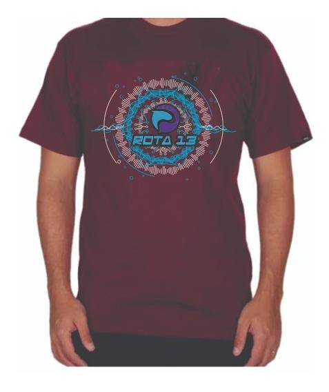 Camiseta Camisa Masculina Algodão Gola Redonda Estampada R14