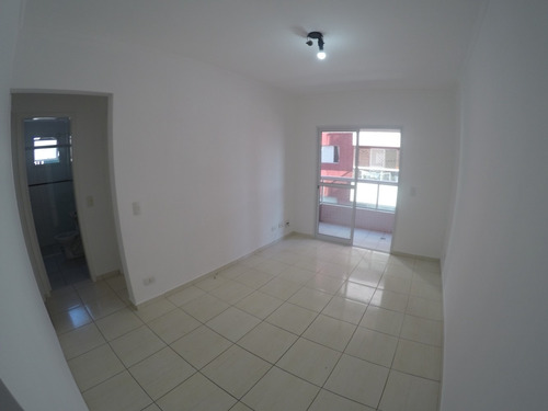 Imagem 1 de 14 de Apartamento 2 Dormitórios Suite- Forte- 250mts Praia- Amj179