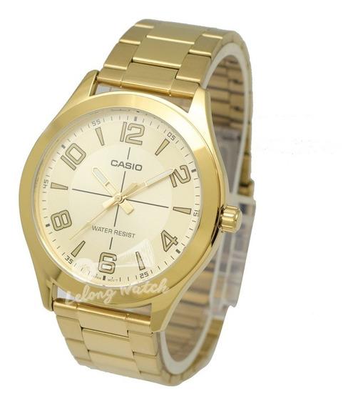 Relógio Casio Masculino -mtpvx01g-9- Original -s Caixa