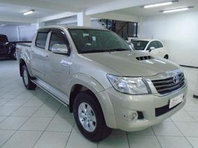 Toyota Hilux 3.0 Srv 4x4 16v 2013 Bege Diesel