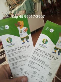 Ingresso Final Copa América
