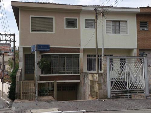 Sobrado Residencial À Venda, Moóca, São Paulo. - So0081