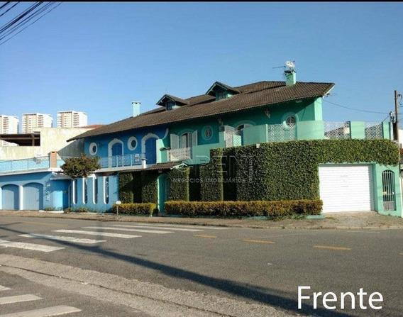 Sobrado Com 4 Dormitórios À Venda, 210 M² Por R$ 495.000,00 - Parque Bandeirante - Santo André/sp - So1409
