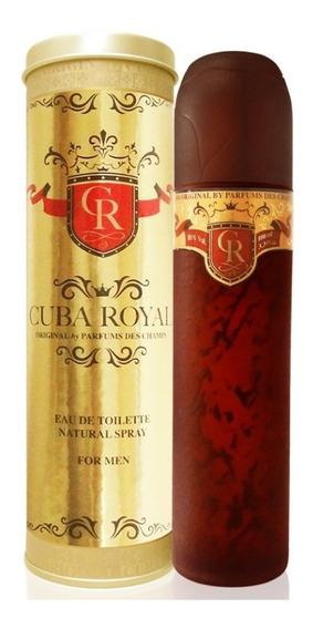 Perfume Cuba Royal Men 100 Ml - Lacrado - Selo Autenticidade Adipec