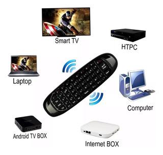 Air Mouse Mini Teclado Control Remoto Recargable Smart Pc,