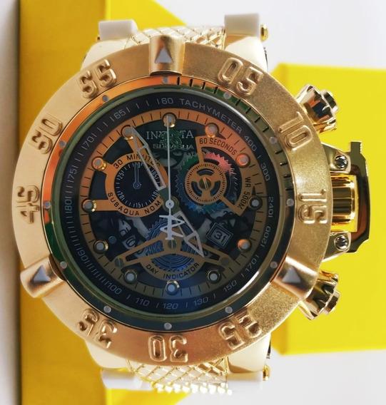 Relógio Masculino Dourado N3 + Caixa De Brinde