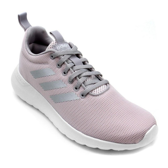 Tenis adidas Lite Racer Cln Rosa/branco