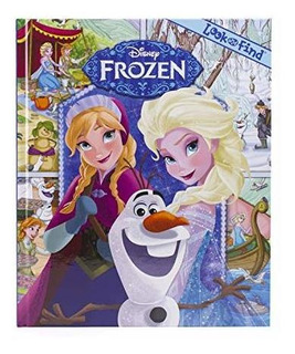 Disney Frozen Look & Find Anna & Elsa : Pi Kids