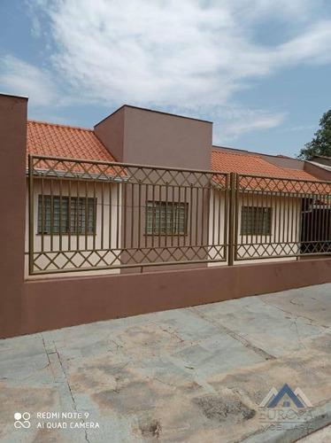 Imagem 1 de 26 de Casa Com 3 Dormitórios À Venda, 120 M² Por R$ 400.000,00 - Jardim Caviuna - Rolândia/pr - Ca1266