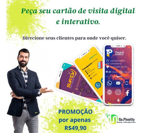 Imagem 1 de 2 de Tenha O Cartão Digital E Interativo Do Seu Negócio