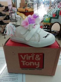 Zapato De Unicornio (marca Viri Y Tony)