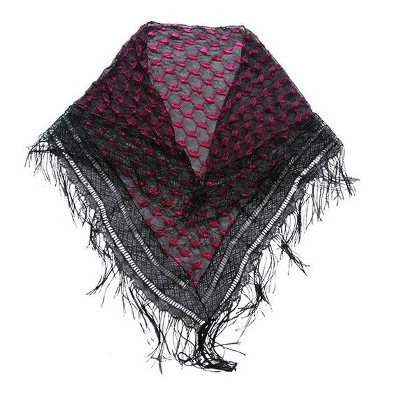 Palestina Teijda Tipo Crochet Para Dama