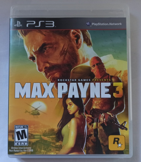 Max Payne 3 Ps3 (completo)