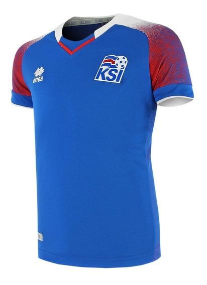 Camiseta Islandia Futbol Oficial Original Mundial Rusia 2018 Oferta