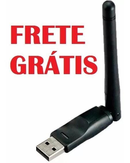 Antena Wifi Para Receptor - Frete Grátis!