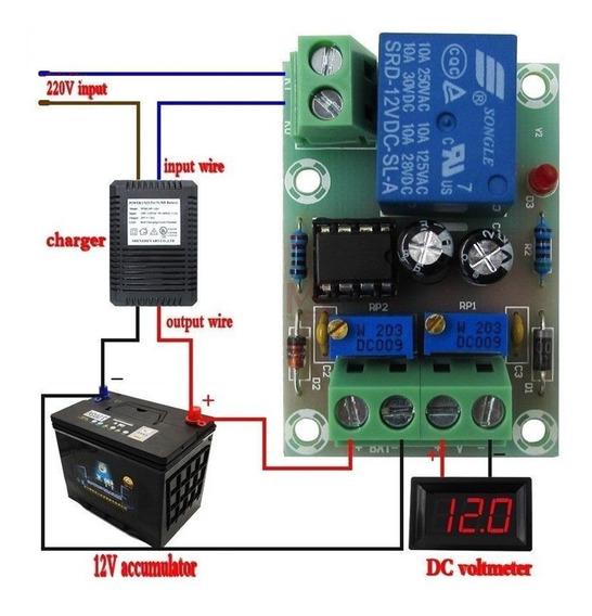 Controlador De Carga Inteligente Para Baterias