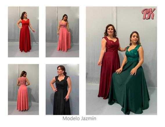Vestido De Fiesta Modelo Jazmin