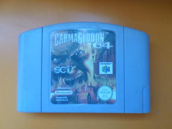 Carmageddon 64 Original Relabel Para Nintendo 64