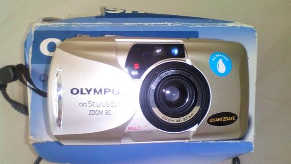 Cámara Fotográfica Olympus De Colección