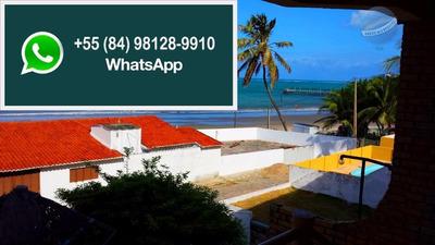 Casa Para Venda Em Pirangi Do Norte, A 30 Metros Da Praia, Com 8 Quartos. - Ca0022
