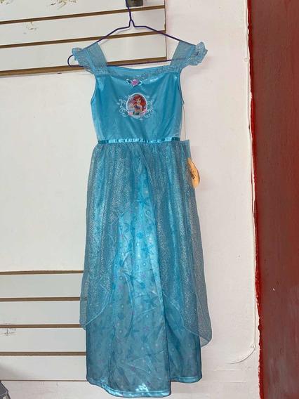 Vestido Sirenita Princesas Disney Original
