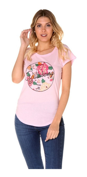 Remera De Mujer Billabong Flowered Tee 12198002 C44
