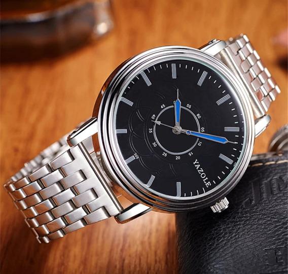 Reloj Yazole Metal Elegante Moda 2018