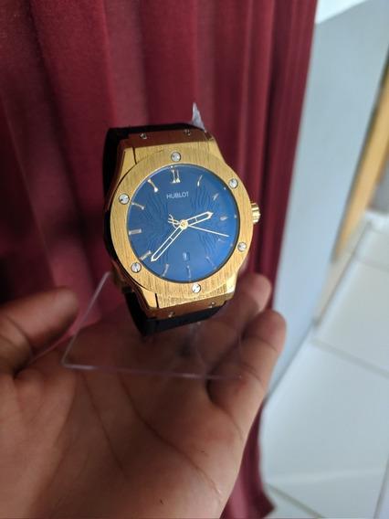 Relógio Hublot Fusion H 46 Classic- Pulseira De Borracha