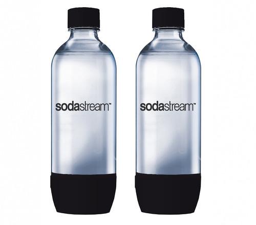 Conjunto De 2 Garrafas Plásticas Sodastream 1 Litro