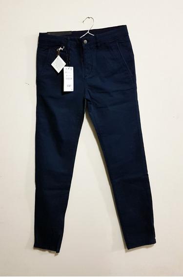 Pantalon Zara - Mod: Chino Az - Talle: 42 (it) - ($6500 X 2)