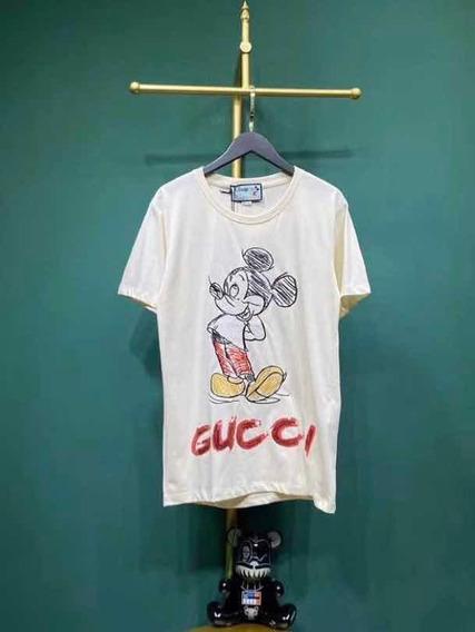 Camiseta Gucci Mickey Coleção Nova