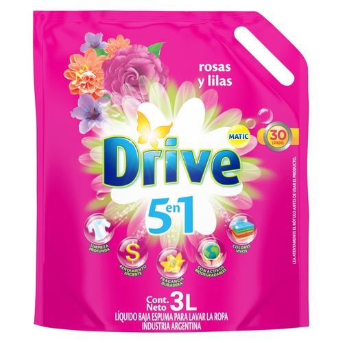Jabón líquido Drive Matic Rosas y Lilas repuesto 3L